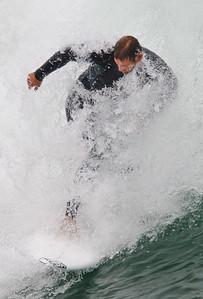 4/29/12 Hunnington Beach Pier, Surfing